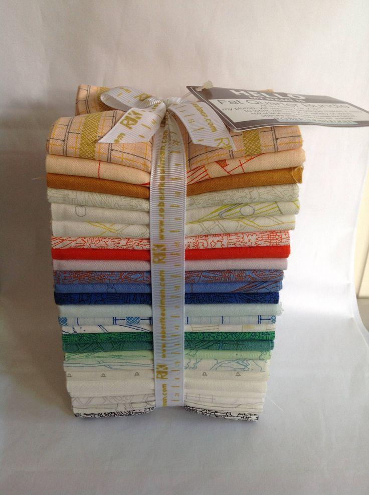 Carolyn Friedlander Fat Quarter Fabric Bundle | Robert Kaufman Fabrics by QuiltAroundTheClock on Etsy https://www.etsy.com/au/listing/583923399/carolyn-friedlander-fat-quarter-fabric