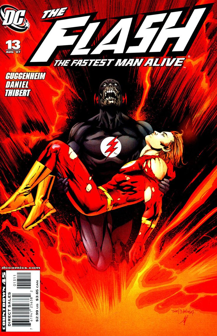 DC Comics - Flash: The Fastest Man Alive (2006) #13 Variant Cover
