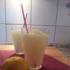 Rezept Slusheis Zitrone Natur pur von Thermomix-Koblenz - Rezept der Kategorie Getränke