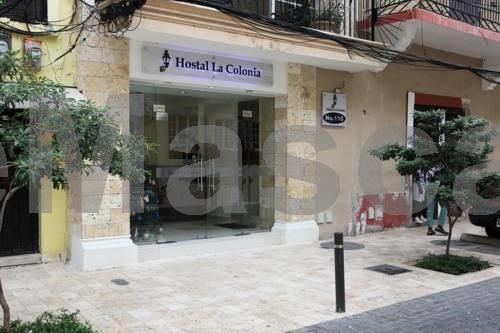 Hostal La Colonia Santo Domingo Located opposite the Amber Museum in Santo Domingo?s colonial centre, Hostal La Colonia offers a shared lounge and terrace and air-conditioned rooms with free Wi-Fi. Santo Domingo Cathedral is just 100 metres away.