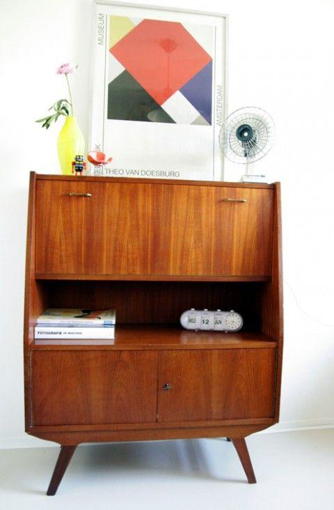 Meer dan 1000 idee u00ebn over Vintage Dressoirs op Pinterest   Dressoir Hardware, Kast Knoppen en
