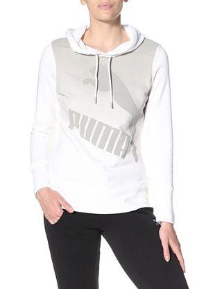 25% OFF PUMA Women's Gradient Hoodie (White)