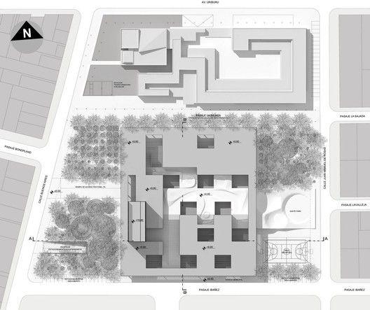 Primer Lugar Concurso Biblioteca del Bicentenario / AFT Arquitectos,