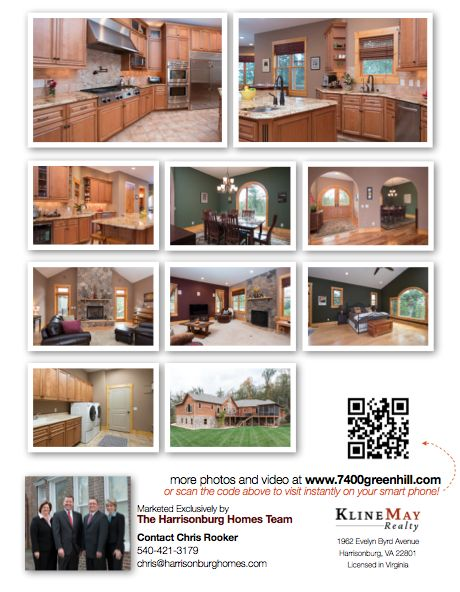 Sample Flyer - Sell Your Home | The Harrisonburg Homes Team