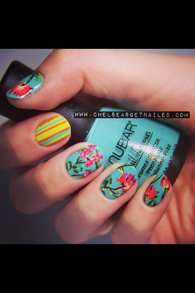 95 best Nails images on Pinterest | Nail scissors, Art ideas and Beleza