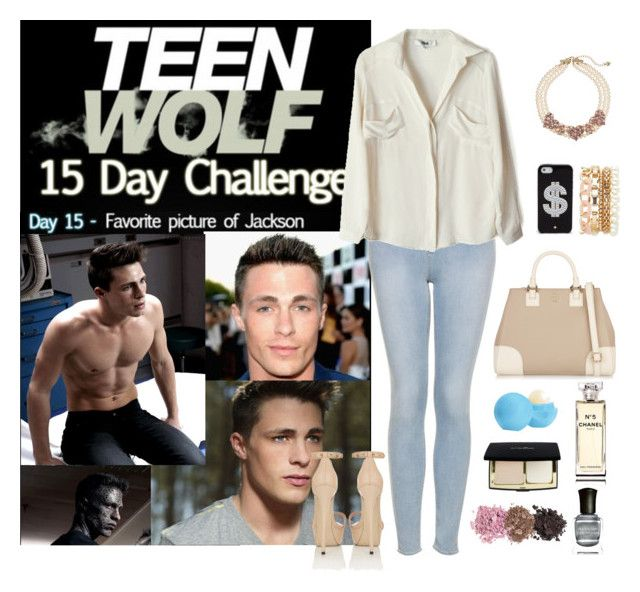 """Teen Wolf Challenge : (15) Favorite picture of Jackson"" by vampirliebling ❤ liked on Polyvore"