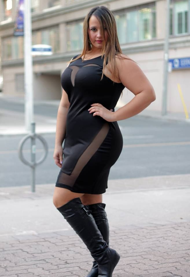 Popular  Dresses Curvy Girls Size Fashion Curvy Women Little Black Dresses