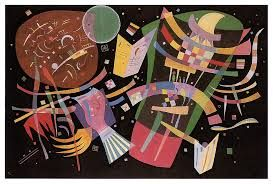Wassily Kandinsky 1939 Composition X, Abstract