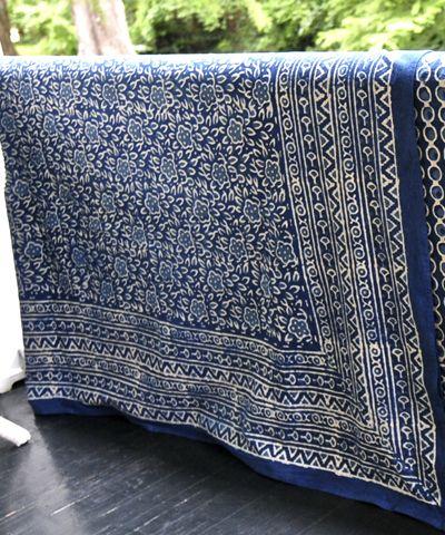 Bali Batik Tablecloth Floral