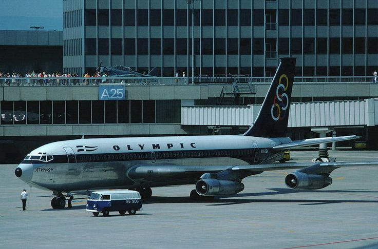 Olympic Airways B 720-051 (Strimon River) [SX-DBK]
