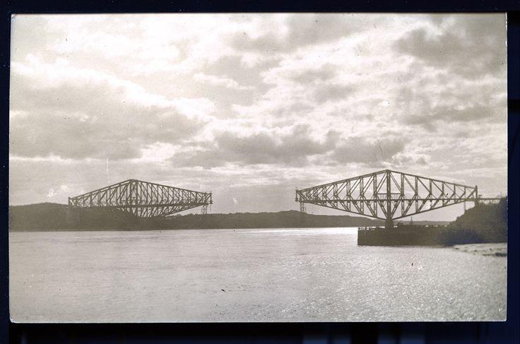 Ville de Québec - Pont de Québec 1916.