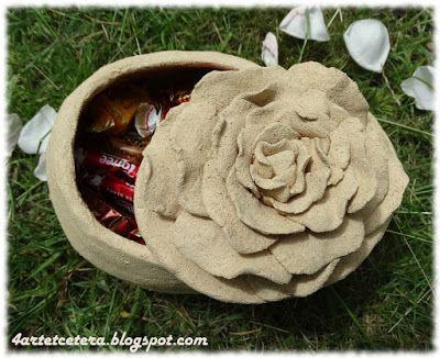 Art et Cetera: Różane  pudełko