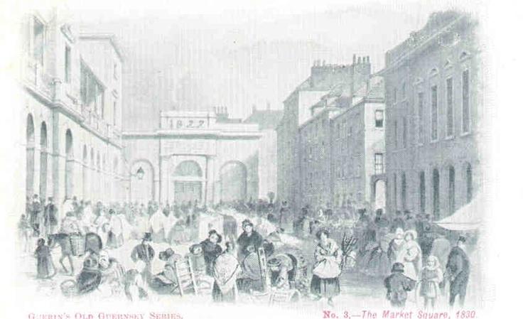 Market Square, 1830.