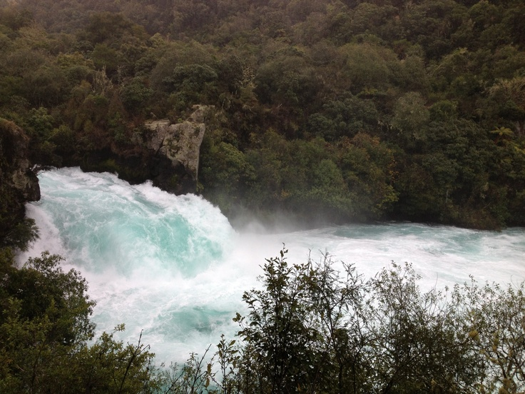 Huka Falls, Taupo, New Zealand.