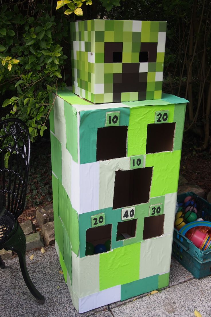 Below are loads of ideas for hosting a fabulous Minecraft themed birthday party! Including games, activities and decorations. All of these ...