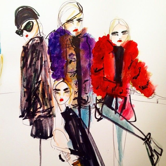11 Fashion illustrators to follow on InstagramOn the cusp of New York Fashion Week, these are the fashion illustrators to follow for their stylish sketches—which are sure to be in full force for the month of shows ahead.