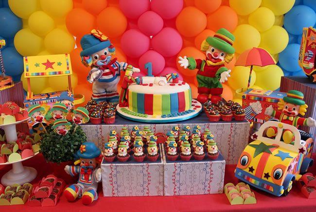 Decoração para festa infantil - Temas para meninos e meninas