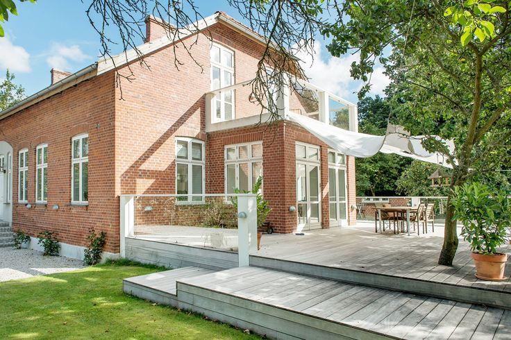 Brick house veranda tegelhus