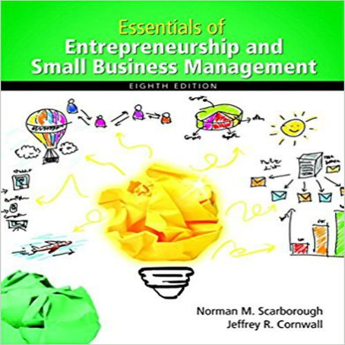 The 73 best test bank images on pinterest manual textbook and download full test bank for essentials of entrepreneurship and small business management 8th edition by scarborough fandeluxe Image collections