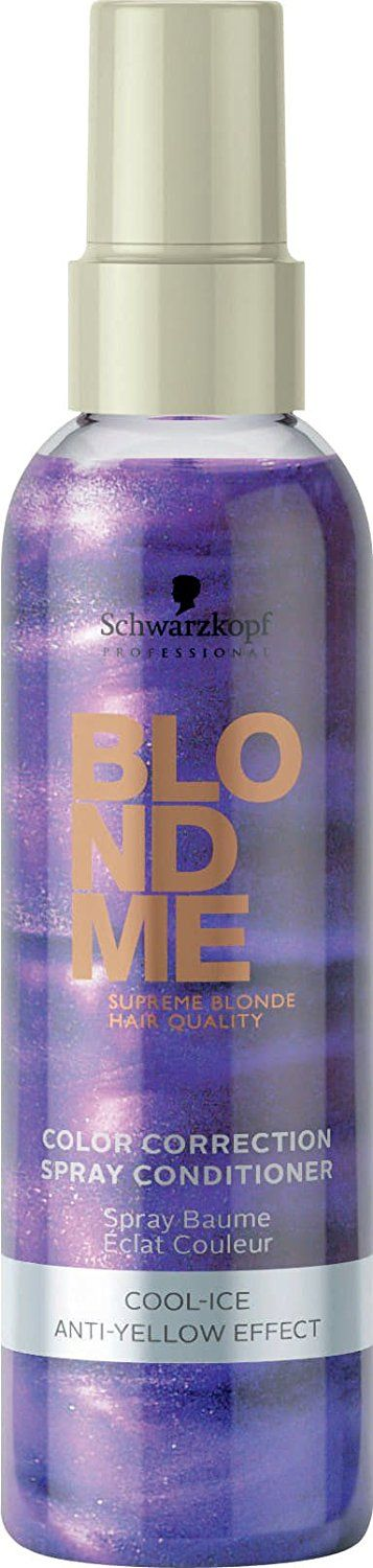 Schwarzkopf Professional BlondMe Cool Ice - Spray Conditioner 400ml ** This is an Amazon Affiliate link. Click image to review more details.