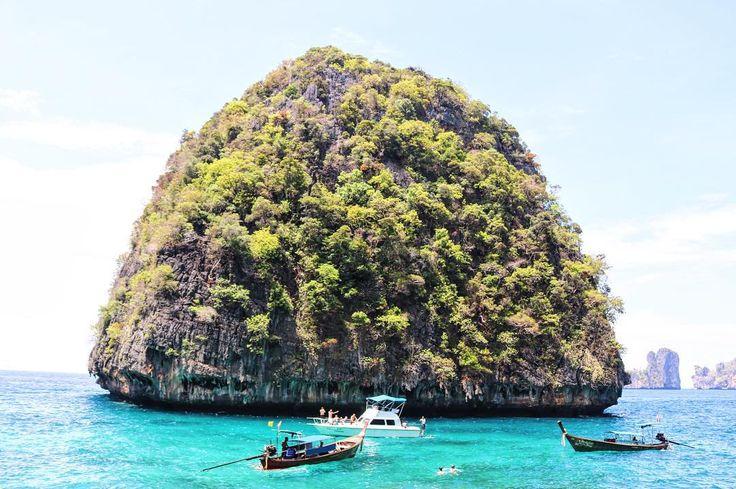 Views from Maya Bay, Thailand
