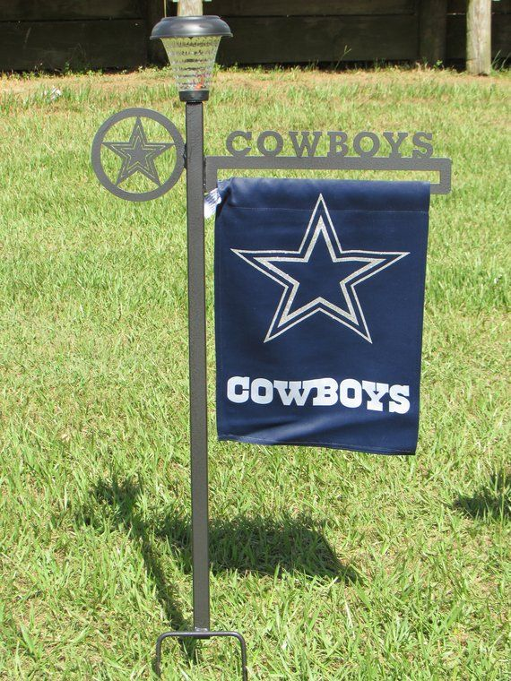 b29fe62e Show your team loyalty by displaying this flag and heavy duty stand in your  yard.