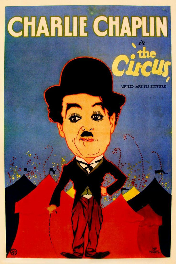 Le cirque, Charlie Chaplin