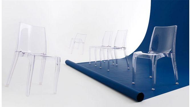 1000 id es sur le th me chaise polycarbonate sur pinterest mobilier canap - Chaise transparente habitat ...