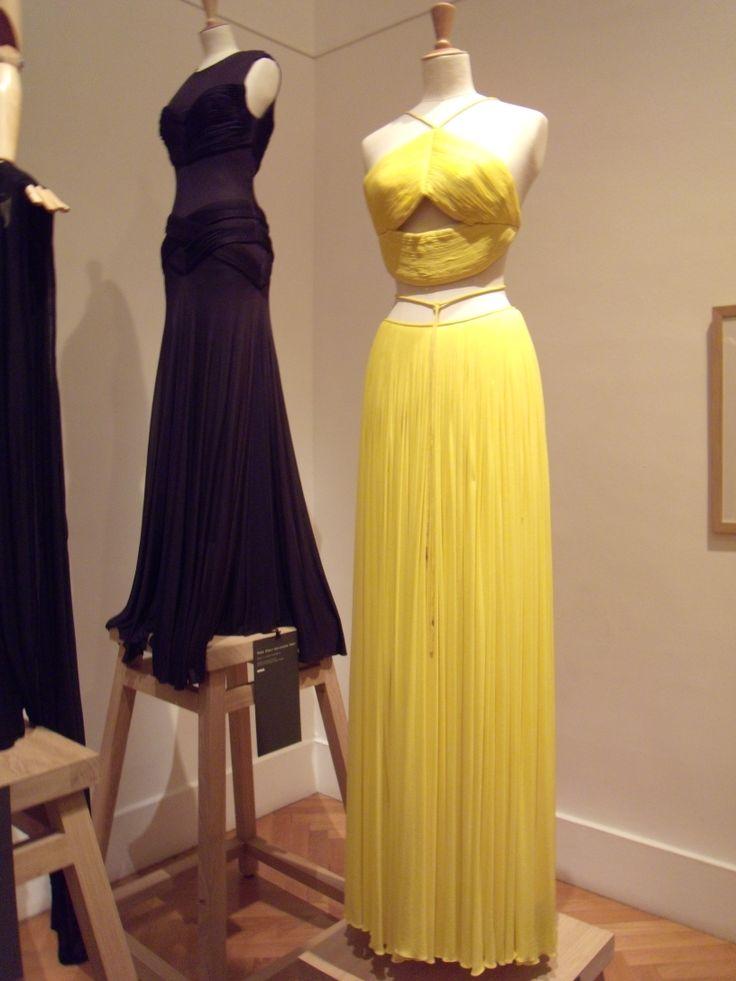robe jaune GRES photo DEFILE DE MARQUES