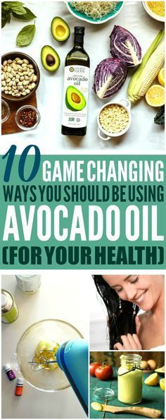 These 10 avocado oil uses are THE BEST! I'm so happy I found these AMAZING tips! Now I know some helpful avocado oil benefits for my health and beauty! Definitely pinning!
