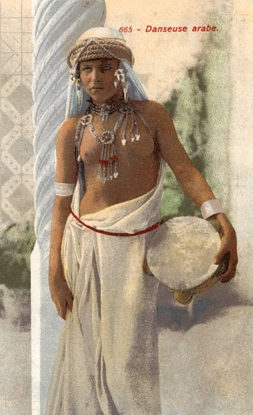 Tunisia & Algeria collection of coloured postcards by Lehnert & Landrock  | ca. early 1900s