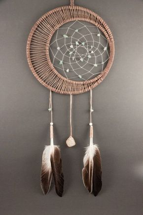 Moonstone Dream Catcher by TheLanternTree