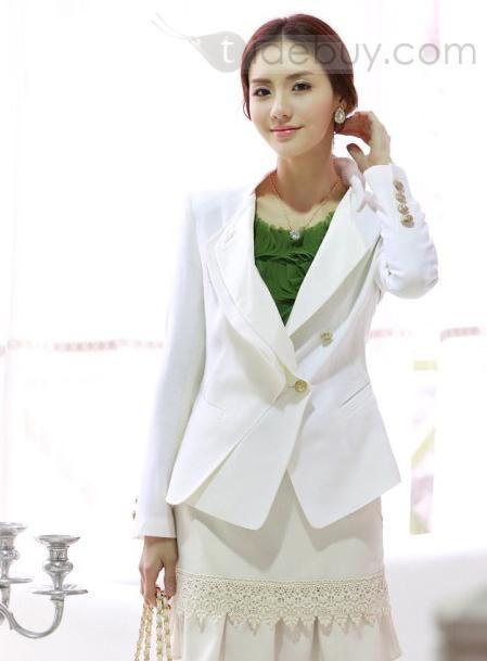 2012 New Arrival Korean Style Stand Collar Blazer : Tidebuy.com