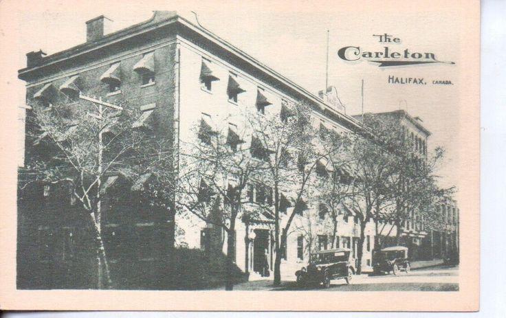 Halifax Nova Scotia Canada THE Carleton Hotel 1920s Cars   eBay