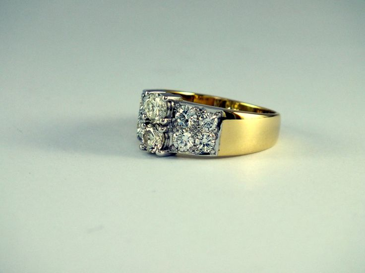 Handcrafted ring by John Stedman