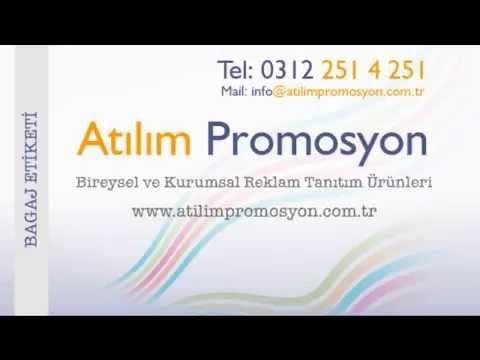 Atılım Promosyon Reklam Tanıtım Ürünleri / Bagaj Etiketi