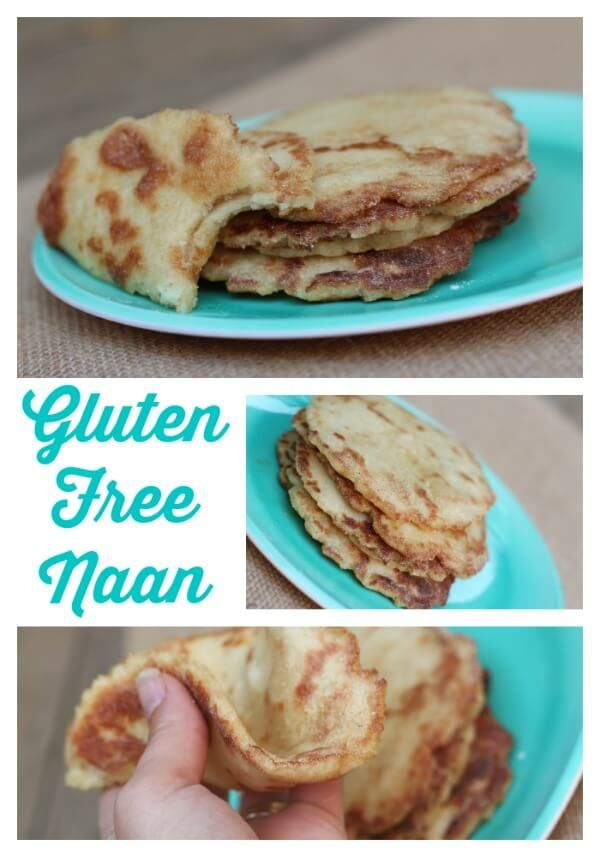 Gluten Free Naan! This is like the real thing! Soft and chewy and perfect!