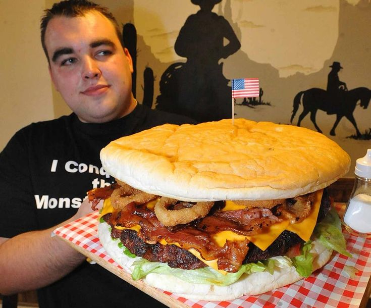 Dale Kay displays possibly the biggest burger on sale in Europe. It is on the menu of Walsall burger restaurant, Smokeys