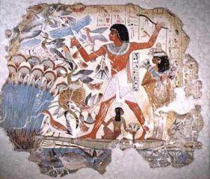 Fig. 17: Tumba de Nebamun. Din. XVIII. Museo Británico.