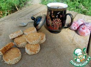 Карамельно-кофейное печенье