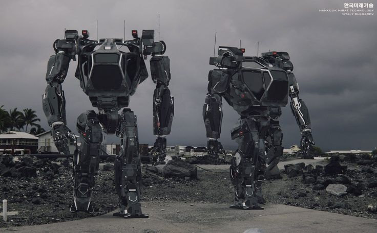 "Meet Method 2 – the ""world's first manned bipedal robot."" This is not the first time a robot like this has been imagined – it's been in sci-fiction movies, animes and even in video games. This robot represents the dream of enhancing human abilities through robotics. - https://den-i.com/meet-method-2-giant-mech-suit-by-hankook-mirae-tech/"