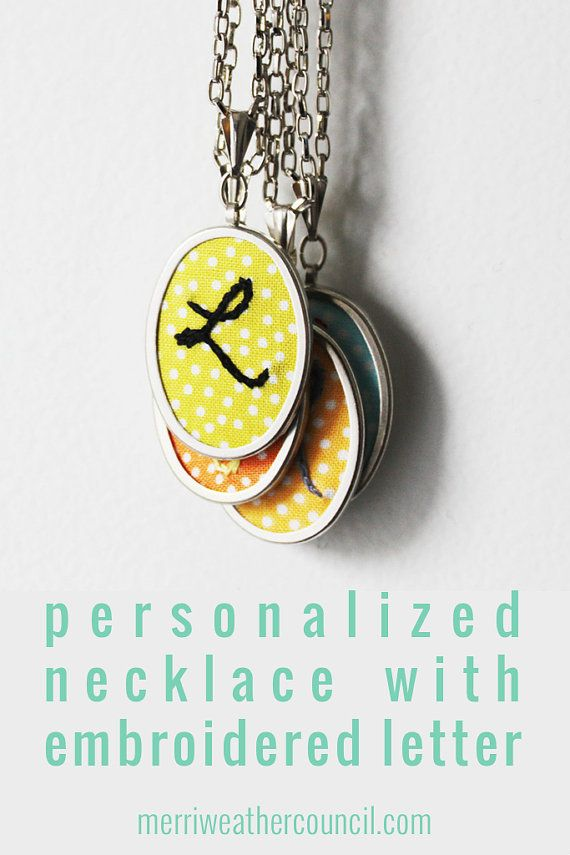 Initial Jewelry. Personalized Gifts by merriweathercouncil on Etsy