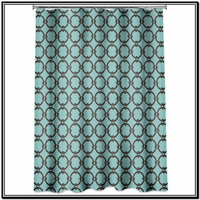 Decorate Bathroom With Turquoise Shower Curtain    Http://www.cheekcouture.com