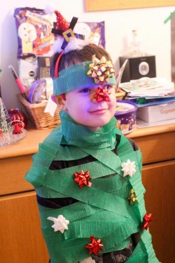 Decorate a human tree - Christmas Games to Make the Holidays Even More  Exciting for Your Kids - Photos #christmasgamesforkids - Decorate A Human Tree Christmas Is Magical Pinterest Christmas
