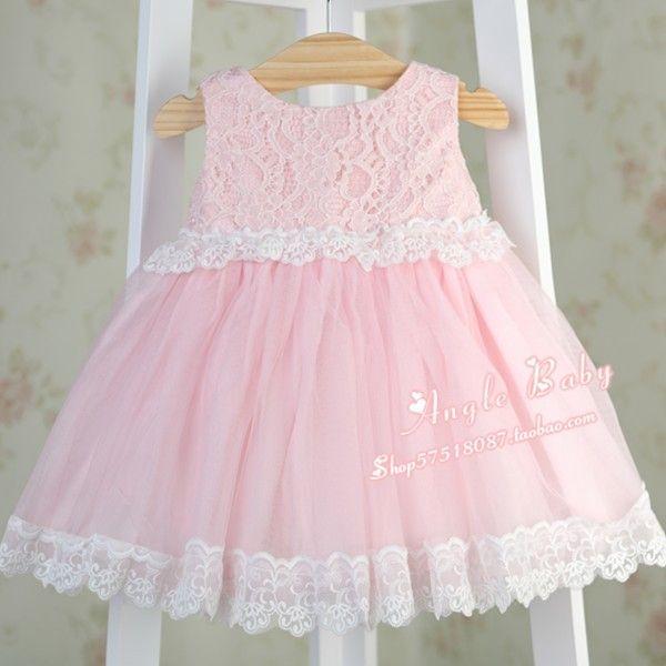 Платья из Китая :: Застенчивый ребенок первый день рождения Платья для маленьких девочек летние платья принцессы, цветок девушка пачка платье принцессы.