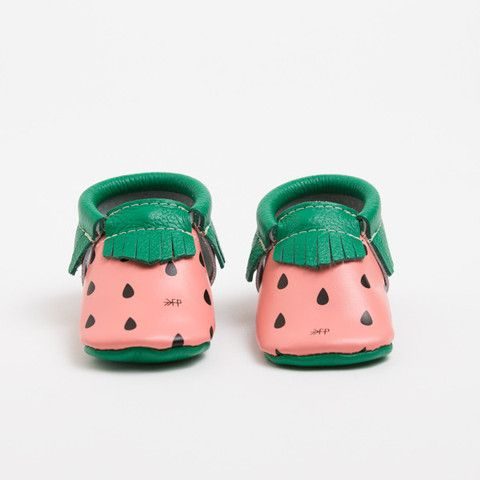 Watermelon Picnic Pack Limited Edition Moccasins Olive