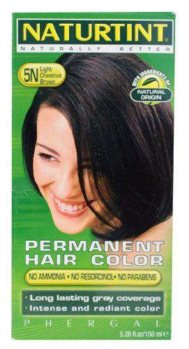 Naturtint Permanent Hair Colorant 5N Light Chestnut Brown -- 5.28 fl oz - http://essential-organic.com/naturtint-permanent-hair-colorant-5n-light-chestnut-brown-5-28-fl-oz/
