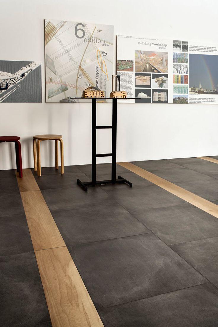 Oltre 25 fantastiche idee su bagni con pavimento in - Parquet su piastrelle ...