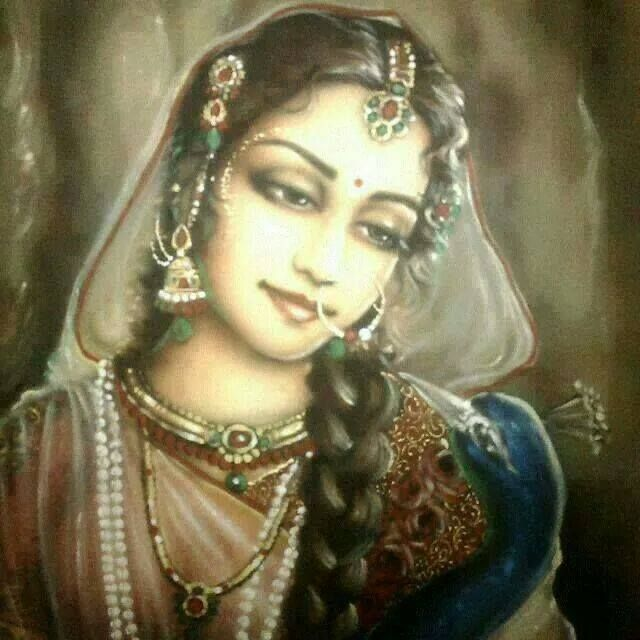"""O Radharani, the queen of Vrndavana, with the medicine of the red lac from Your lotus feet, please bring back to life this person now dead from the bites of the black snake of not seeing You."" (Vilapa-kusmanjali by RDG)"