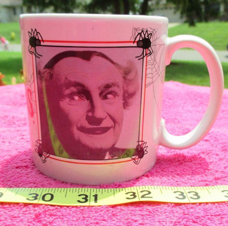 Vintage The Munsters Grandpa Mug Cup P6406  1964  #TheMunsters